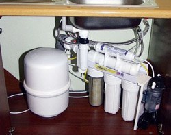 Установка фильтра очистки воды в Тольятти, подключение фильтра очистки воды в г.Тольятти